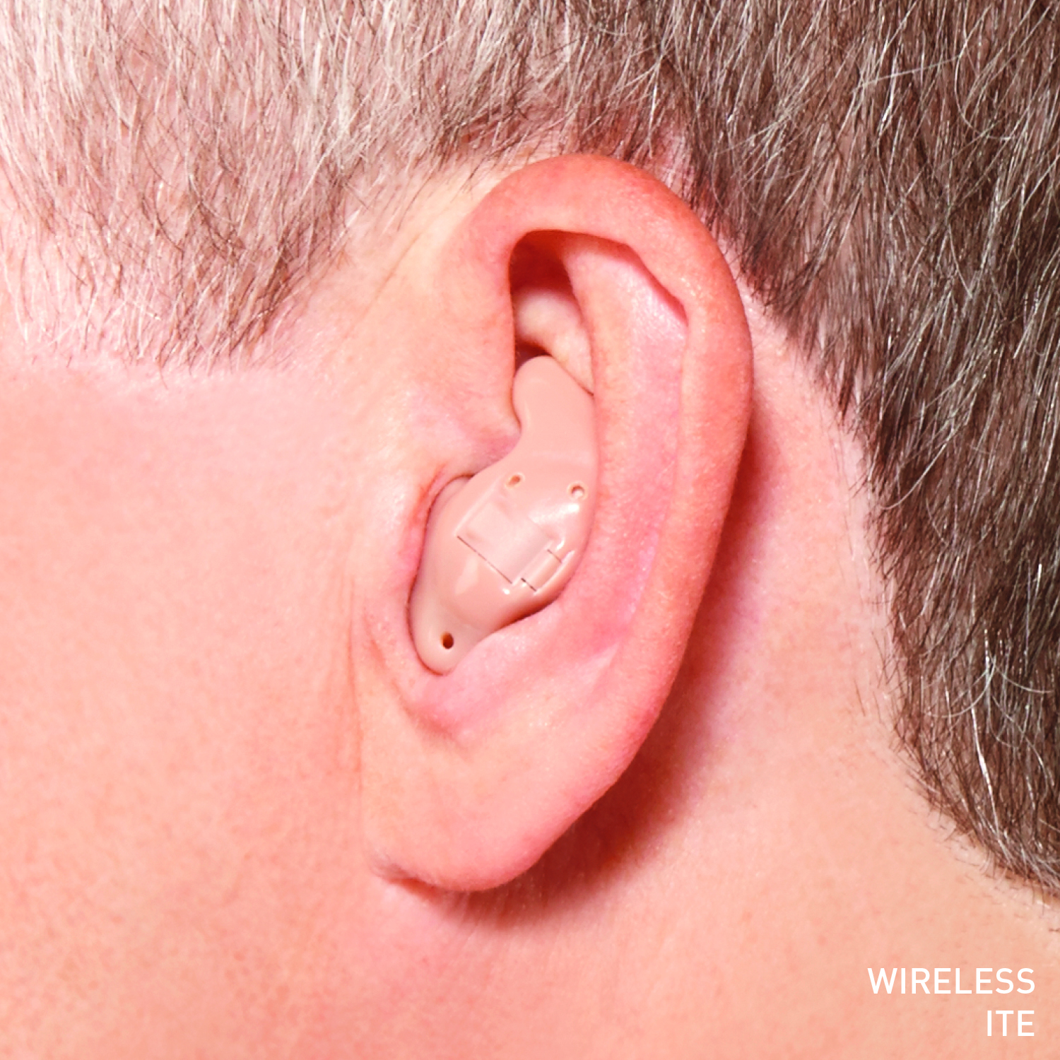 photo of Muse iQ on ear in situ